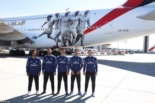 阿联酋航空推出皇马A380涂装