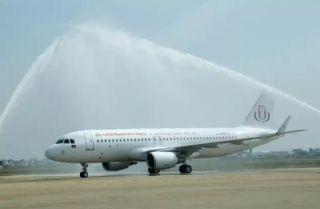 景成集团下属JC(柬埔寨)航空公司起航