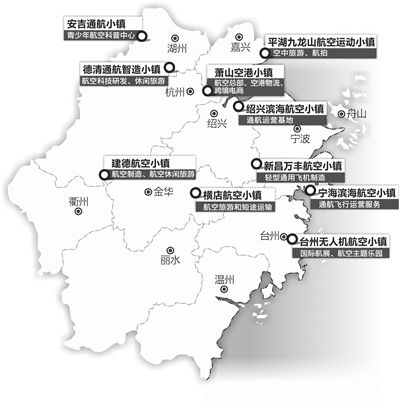 浙江1000亿的航空产业目标 底气在哪里?