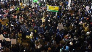 抗议特朗普禁令 设计师构思未来机场设计新趋势