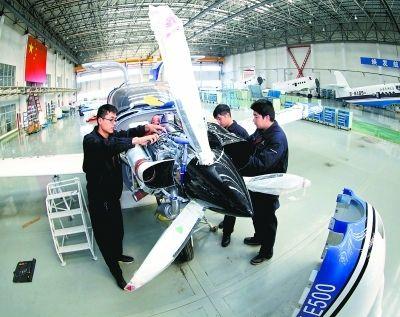 石家庄建设七大板块 打造通用航空全产业链