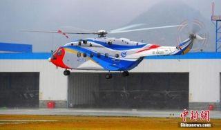 AC313首开国产大型直升机雨天试飞先河