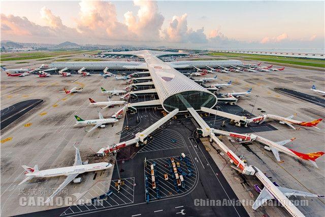 新航季深圳机场日均航班量破千 新开多条国际线