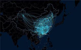 视频:飞常准航线图带你看2017民航夏秋换季