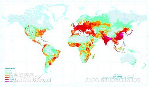 世界人口密度