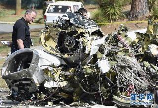 小型飞机在美国佐治亚州坠毁 飞行员死亡