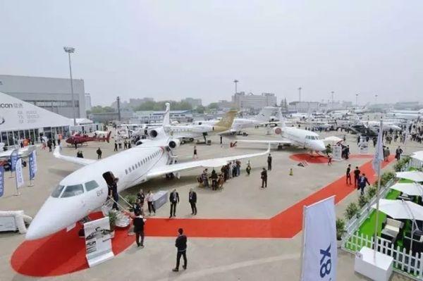 破纪录!38架飞机将参展2017亚洲公务航空大会