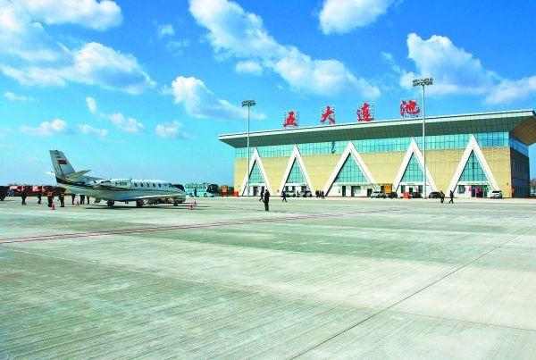 五大连池德都机场校飞 预计10月可正式通航