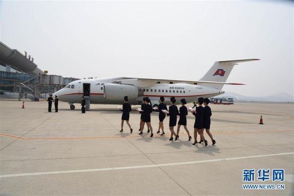辽宁丹东开通至朝鲜平壤包机往返航班