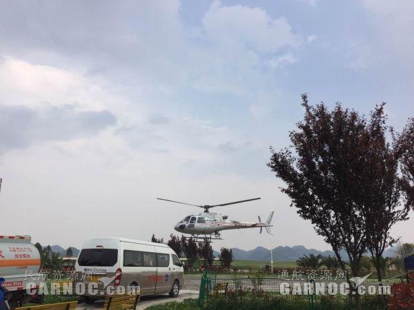 海直通航两架直升机开启南方电网电力巡线任务