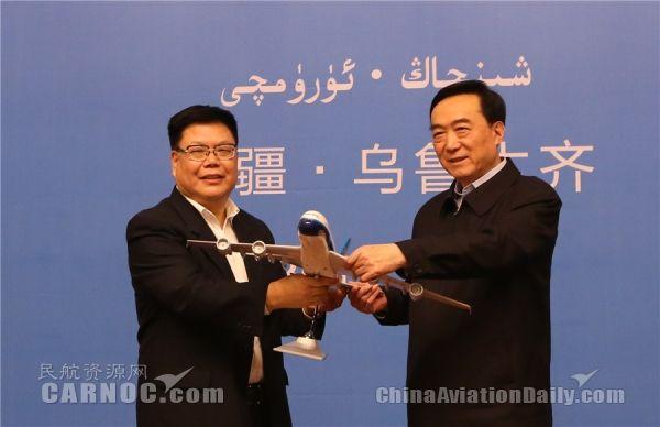 南航将引进10架宽体机投入新疆主干航线运营