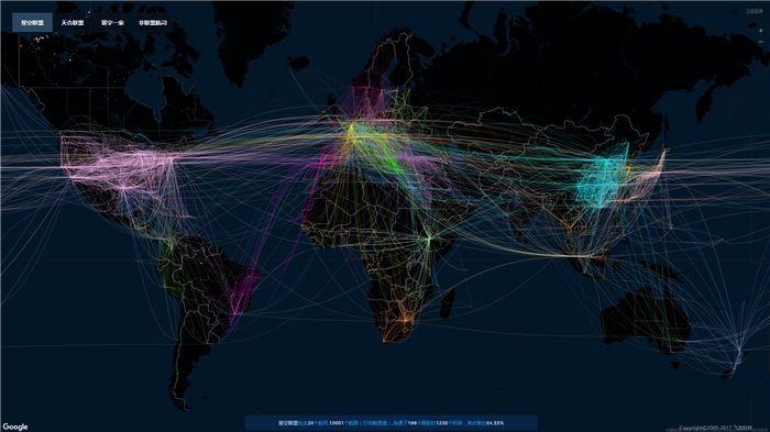 星空联盟日均航班18000架次 准点率达84.31%