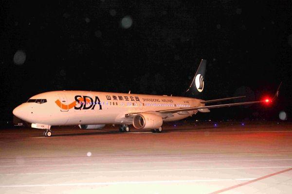 B-1436号飞机加盟山航 在册机队数量达106架