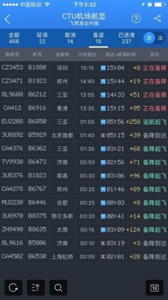 成都机场再次遭遇无人机干扰5.15