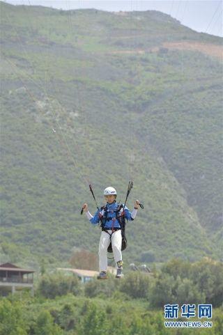 中国队获世界滑翔伞定点锦标赛团体冠军