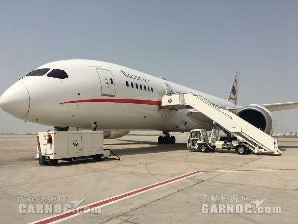 """""""一带一路""""上舞动梦想 787商务机开启中东巡展"""
