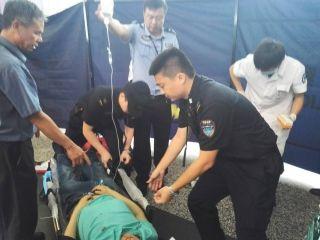 白云机场紧急救助突发胃出血旅客