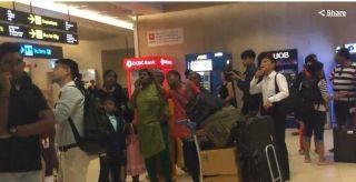 新加坡樟宜机场航站楼火患3人送医 航班延误