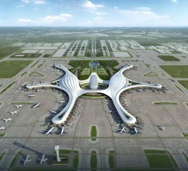 成都天府国际机场航站楼建设正式开工