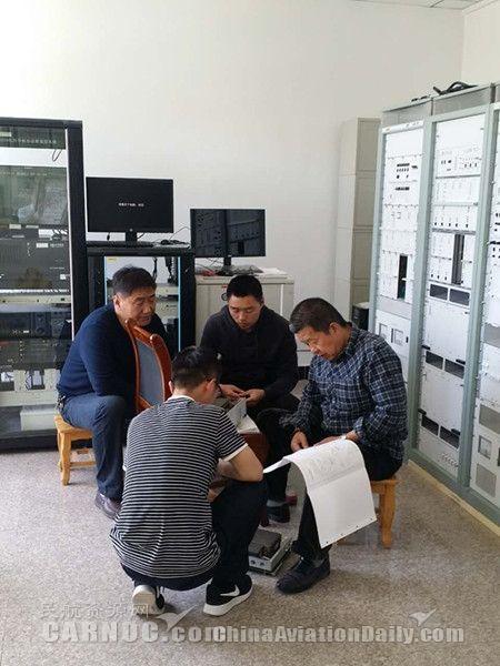 甘肃空管分局静宁导航台搭建模拟平台