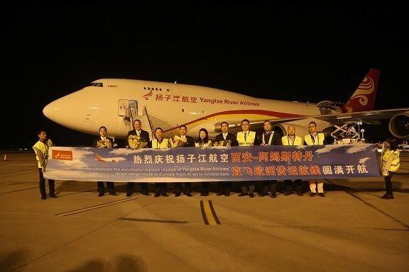 开航线建航企 海航现代物流助力打造中国孟菲斯
