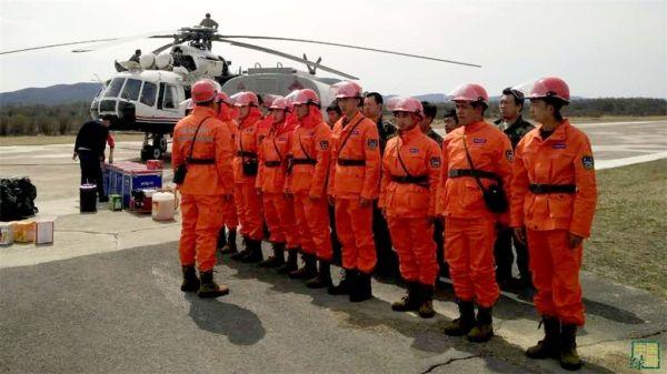 全国首支森林航空消防特勤突击队成立