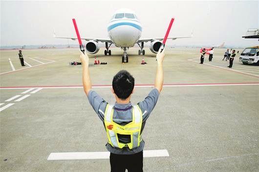 客流量重返中部第一 武汉民航冲破瓶颈