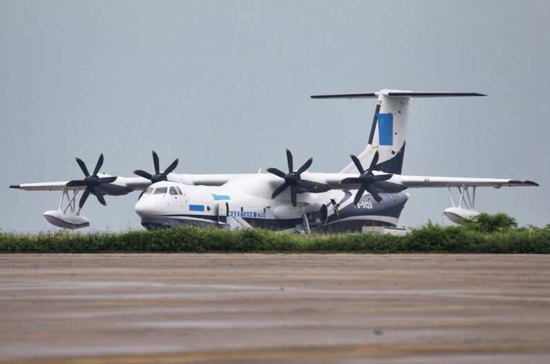 国产AG600两栖飞机水动能研发试验获得成功