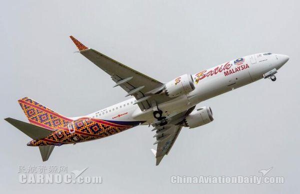 """波音对首架737 MAX 8运营表现""""非常满意"""""""