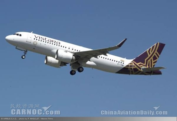 Vistara航空订购13架A320neo和6架787-9