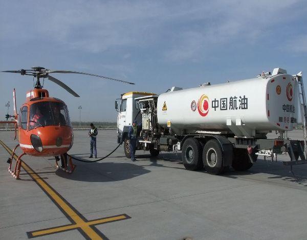 40余吨!中国航油海拉尔给30架救火直升机供油