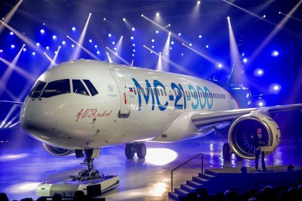 """俄""""21世纪干线飞机""""MC-21将于五月底首飞"""