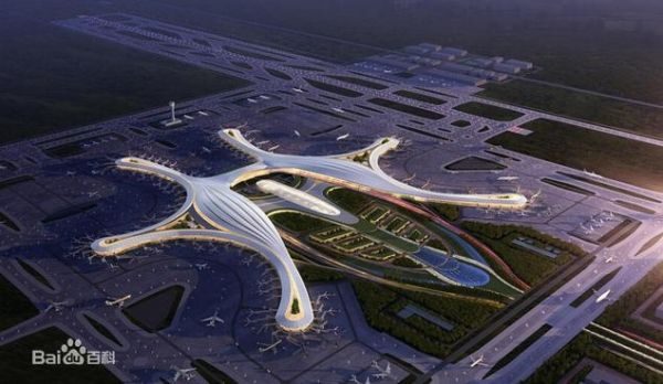 成都天府国际机场设计图
