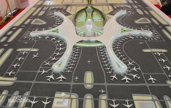 北京大兴国际机场设计图