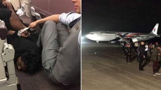 旅客持充电宝当炸弹欲闯驾驶舱 马航客机返航
