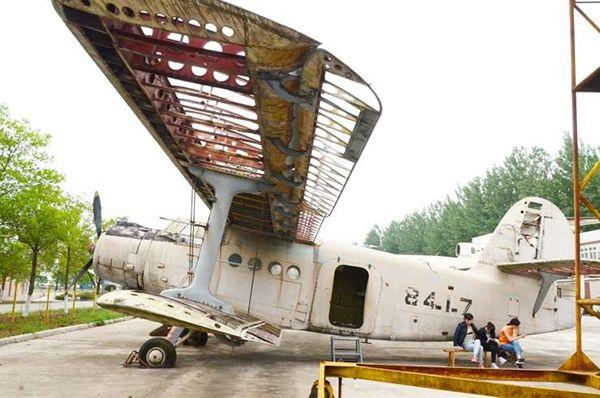 中国民航飞行学院30多架退役飞机将对公众开放