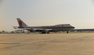 国货航启运中国政府援助斯里兰卡洪灾救援物资