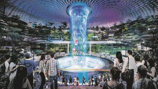 樟宜机场这次玩大了!85亿建了颗超炫大星星