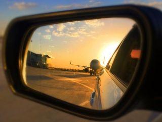 换个视角领略大飞机的美