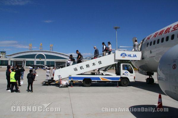 佳木斯机场5月运送旅客56341人次 创历史新高
