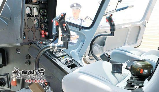 甘肃省第一架警用直升机6月9日首飞