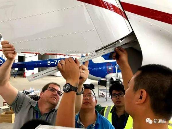 新疆通航PC-12型飞机完成年检 开始飞行训练