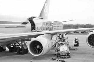 五年间,郑州机场全货机从每天1班增至100班