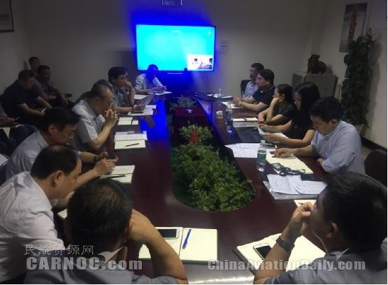 中国邮航机务维修系统通过民航华北局2017年检