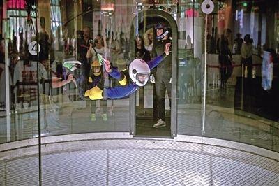 风洞中的芭蕾 全国室内跳伞锦标赛在渝开幕
