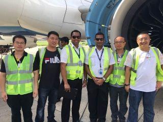 白云地勤机务获取A320 (LEAP)维修放行资格