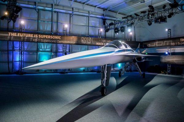 XB-1超音速客机