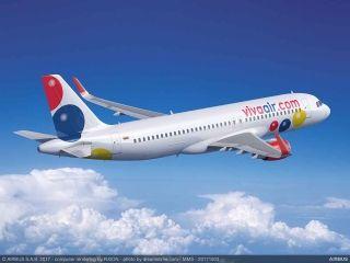 Viva航空与空客签50架A320系列飞机承诺订单