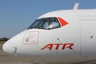 远东航首架ATR抵松山机场 4季度投入营运