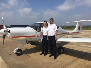 吉林省福航航院首批学员顺利完成单飞